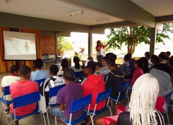 Projeto Dinâmica nas escolas realiza palestra em Oratórios