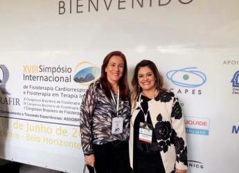 Profªs Jocimar Martins e Júnea Fontes do Curso de Fisioterapia participam do SIFR 2016