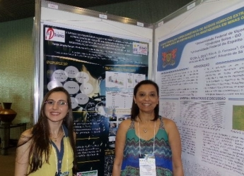 Aluna do Curso de Farmácia participa de Congresso Brasileiro de Química