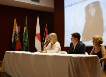 Curso de Direito presente na Semana Nacional de Conciliação