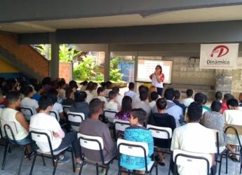 Conversando sobre sexualidade na Escola Municipal Reinaldo Alves Costa