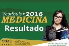 Resultado do Vestibular de Medicina 2016