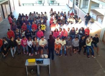 Dinâmica nas escolas presente na Escola Senador Miguel Lana