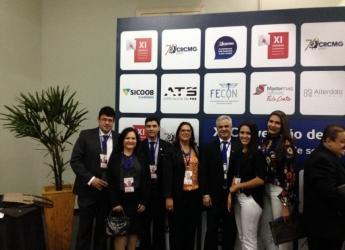 Curso de Ciências Contábeis presente na XI Convenção de Contabilidade de Minas Gerais